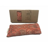 Kusala Eye Pillow Silk - Chicago Orange Beige