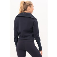 House of Gravity Turtle Neck Sweater - Deep Blue Moonstone