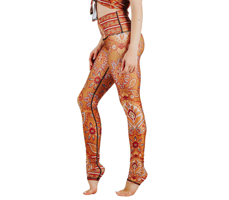 Yoga Democracy Yoga Legging - Rad Paisley