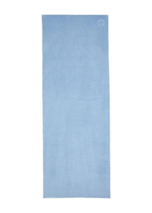 Manduka Manduka eQua Towel 182cm 67cm - Clear Blue
