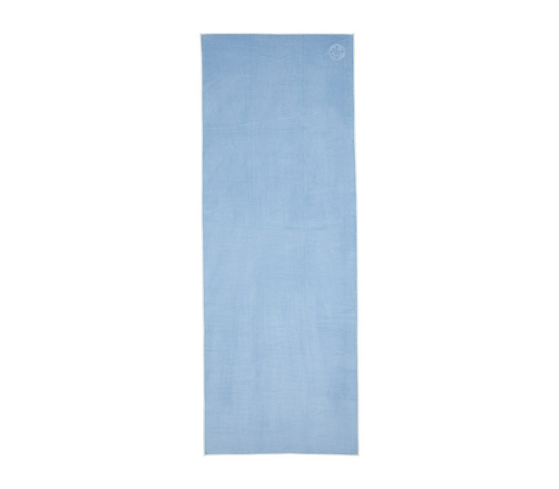 Manduka eQua Handdoek 182cm 67cm - Clear Blue