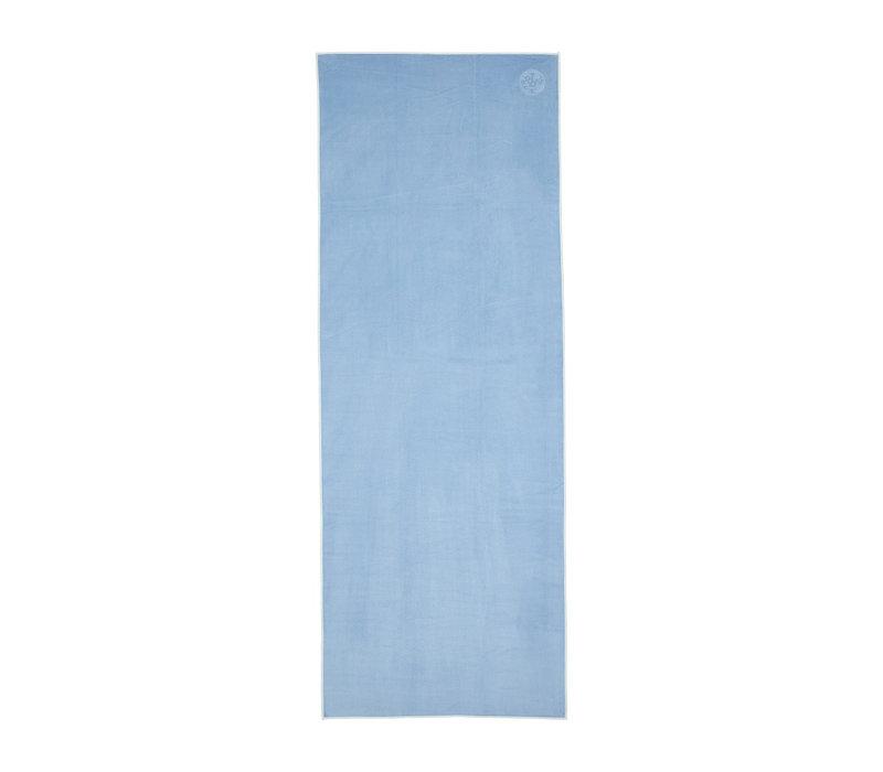 Manduka eQua Handtuch 182cm 67cm - Clear Blue