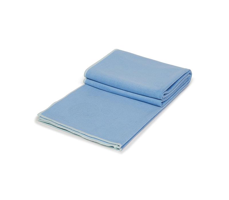 Manduka eQua Towel 182cm 67cm - Clear Blue