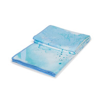 Manduka eQua Towel 182cm 67cm - Splatter Splash Blue