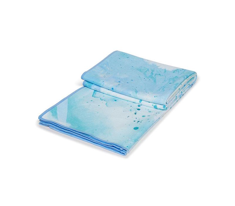 Manduka eQua Handtuch 182cm 67cm - Splatter Splash Blue