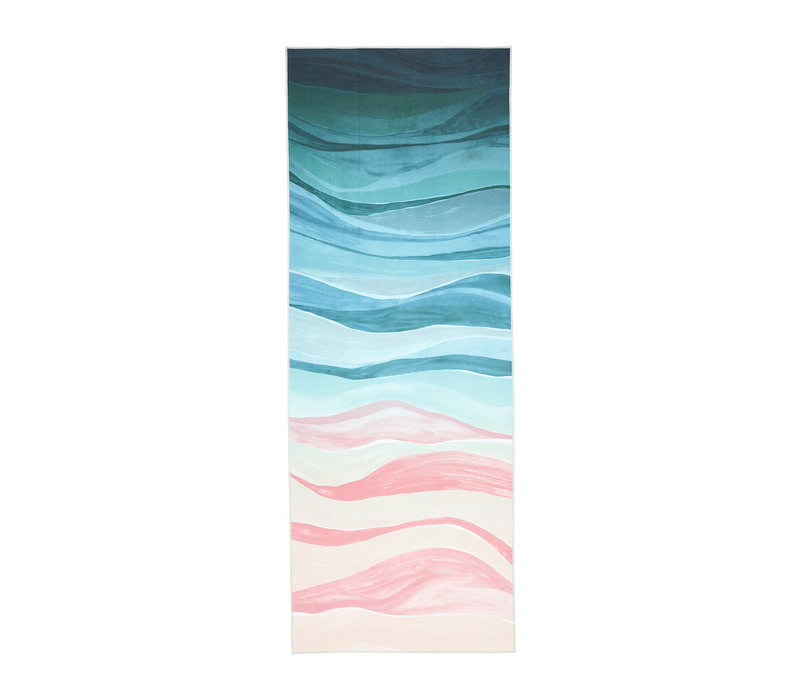 Manduka eQua Towel 182cm 67cm - Ebb and Flow
