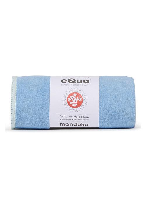 Manduka Manduka eQua Hand Towel 40cm 67cm - Clear Blue