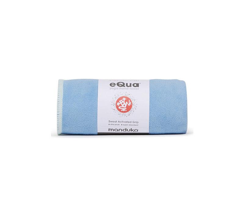 Manduka eQua Hand Towel 40cm 67cm - Clear Blue