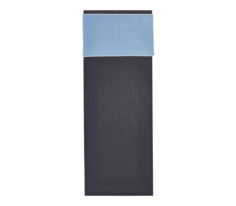 Manduka eQua Handdoek 40cm 67cm - Clear Blue