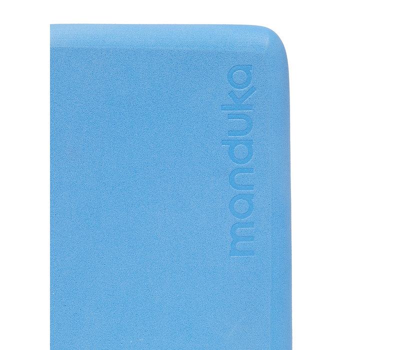 Manduka Mini Travel Yoga Blok - Surf