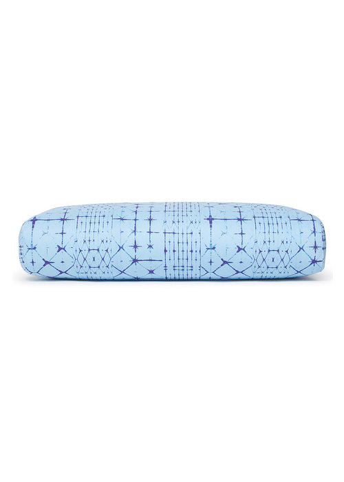 Manduka Manduka Yoga Bolster Rectangular - Star Dye Clear Blue