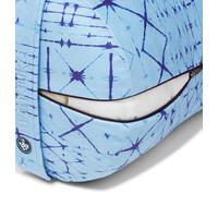 Manduka Yoga Bolster Round - Star Dye Clear Blue
