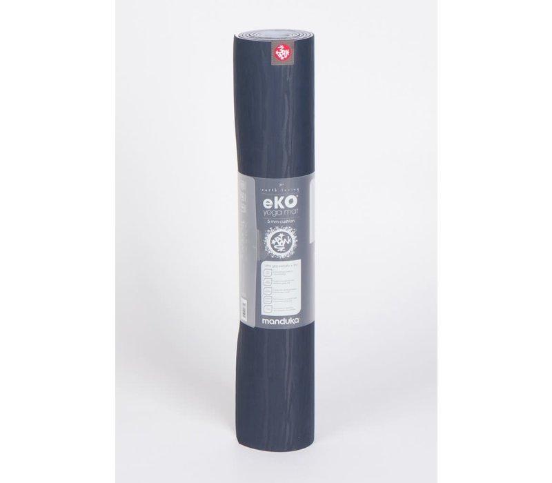 Manduka eKO Yoga Mat 180cm 60cm 5mm - Midnight