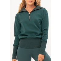 House of Gravity Turtle Neck Sweater - Smaragdgrün