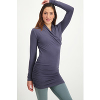 Urban Goddess Good Karma Longsleeve Tunic - Rock