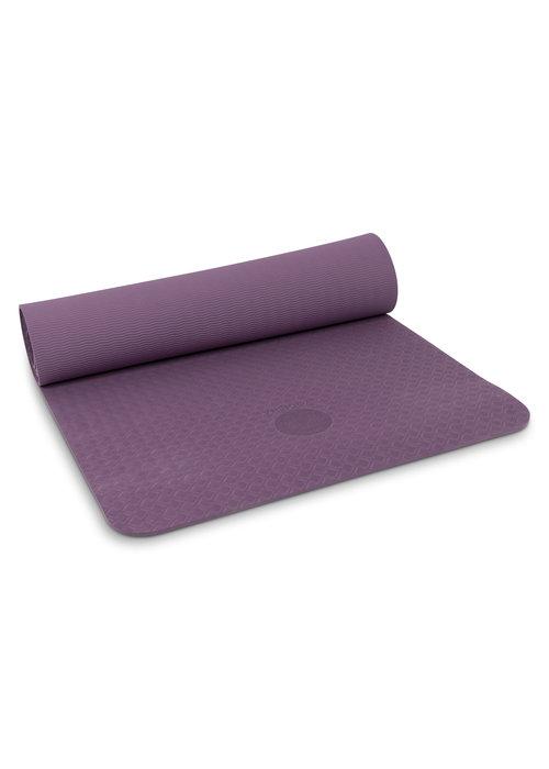 Yogisha Yogisha Soft & Light Yogamat 183cm 60cm 6mm - Aubergine
