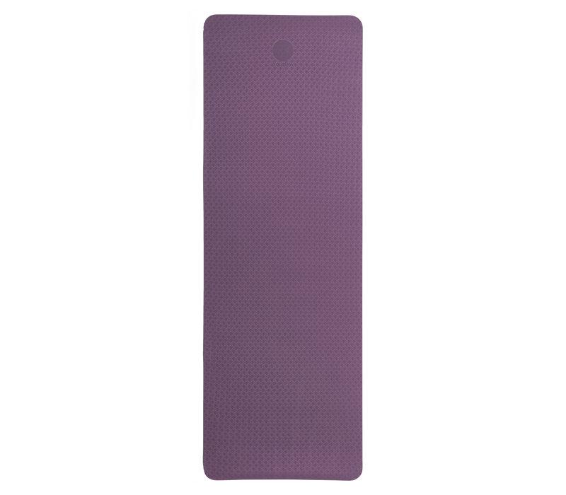 Yogisha Soft & Light Yogamat 183cm 60cm 6mm - Aubergine