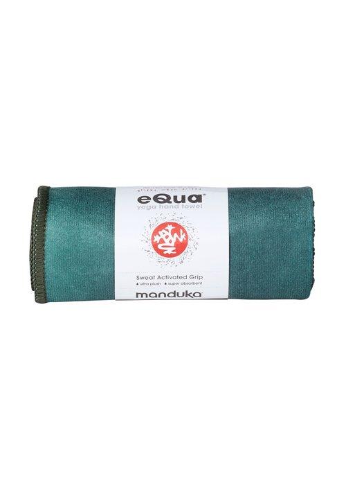Manduka Manduka eQua Handdoek 40cm 67cm - Camo Tie Dye Greens