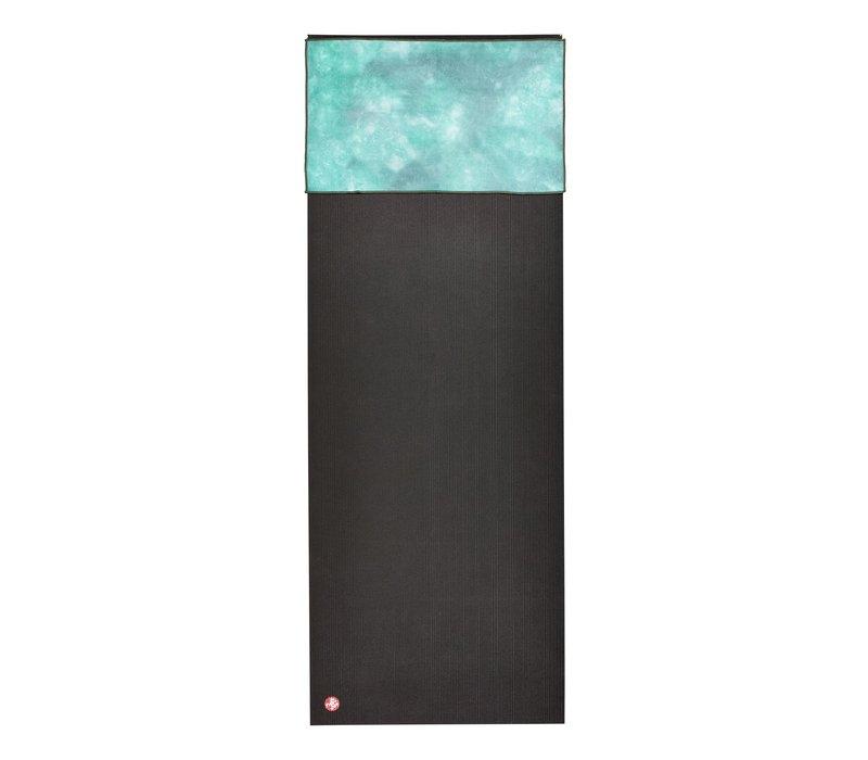 Manduka eQua Handtuch 40cm 67cm - Camo Tie Dye Greens