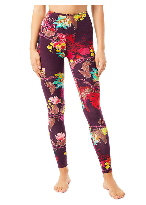Mandala Mandala Printed Tights - Flaming Flower