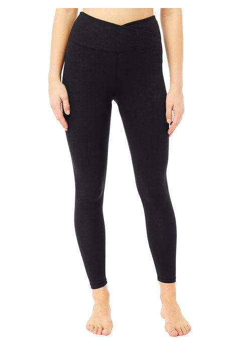 Mandala Mandala High Rise Wrap Legging - Black