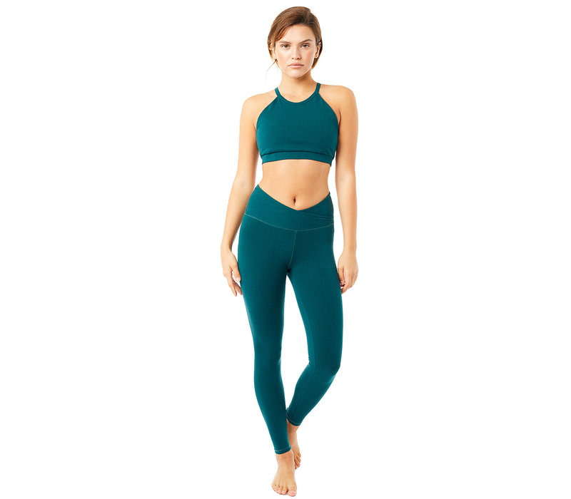 Mandala High Rise Wrap Legging - Jungle