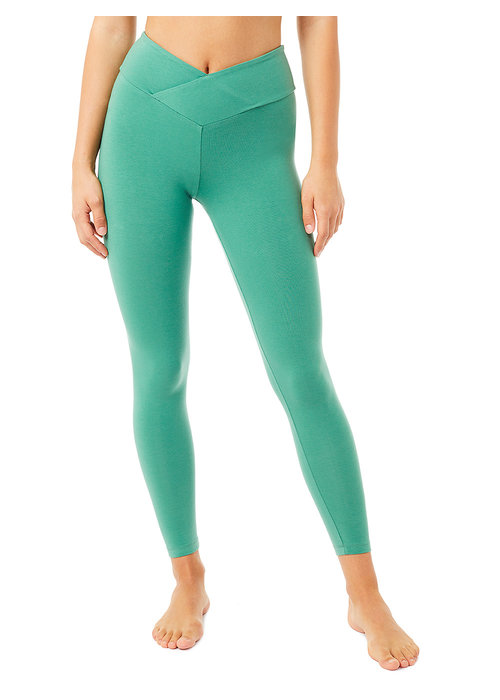 Mandala Mandala Envelope Tights - Jade