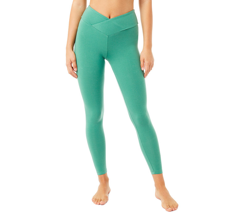 Mandala Envelope Tights - Jade