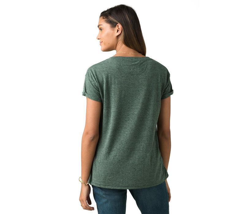 PrAna Cozy Up T-shirt - Canopy Heather