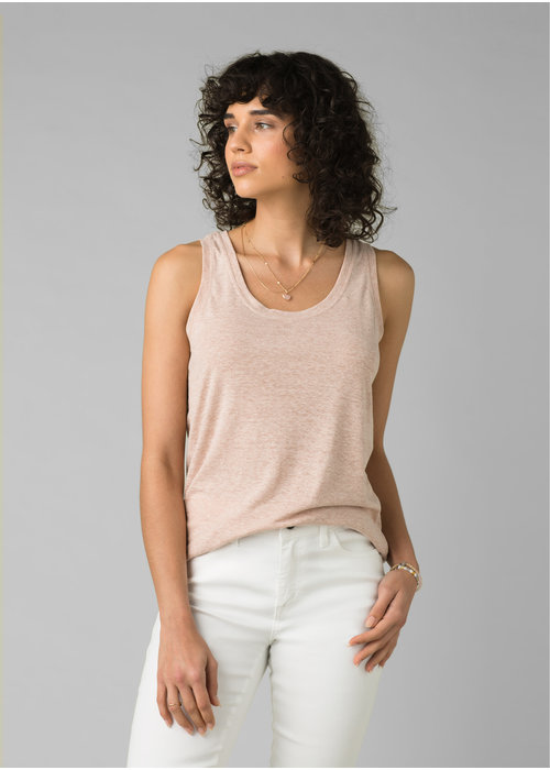 PrAna PrAna Cozy Up Tank - Champagne Heather