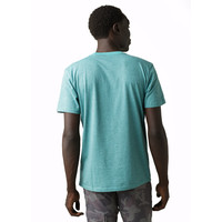 PrAna Crew T-Shirt - Azurite Stripe