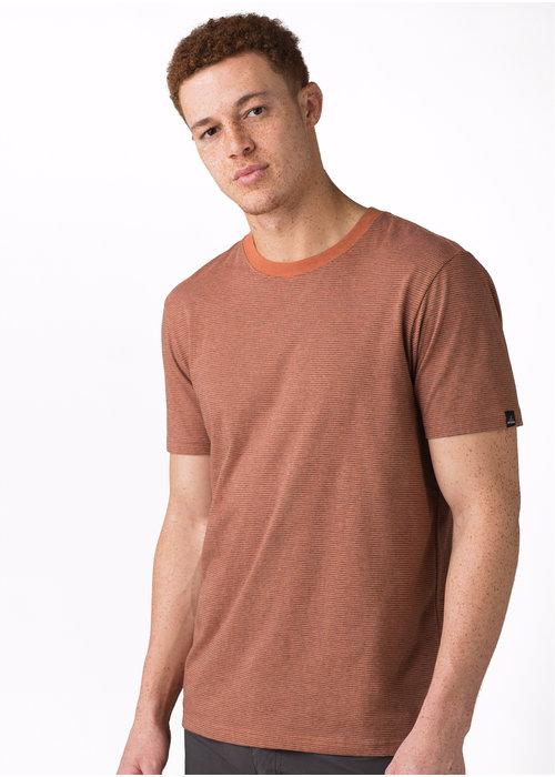PrAna PrAna Crew T-Shirt - Russet Stripe