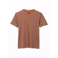 PrAna Crew T-Shirt - Russet Stripe
