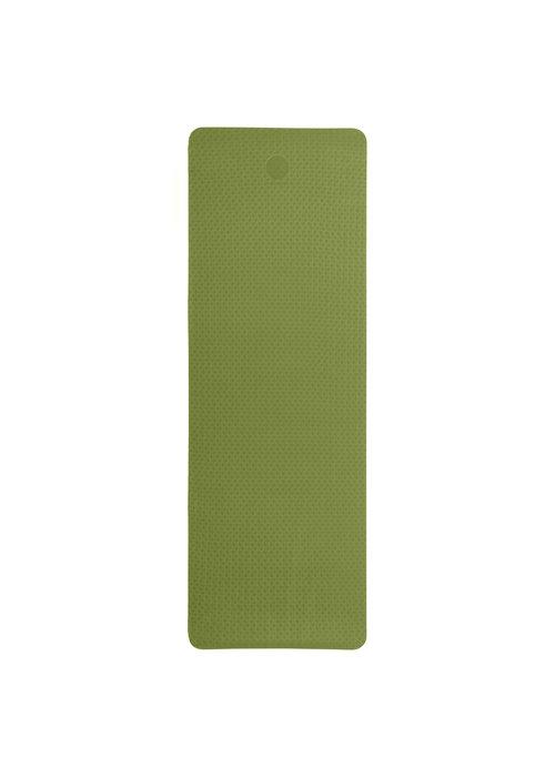 Yogisha Yogisha Soft & Light Yogamat 183cm 60cm 6mm - Olijfgroen / Zwart