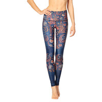 Yoga Democracy Yoga Legging - Festival Denim