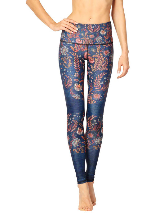 Yoga Democracy Yoga Democracy Yoga Legging - Festival Denim