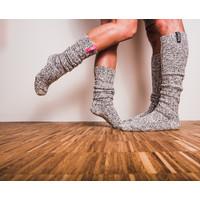 Soxs Men's Socks - Grey/Jet Black Knee High