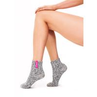 Copy of Soxs Damen Socken - Grey/Bubble Gum Low