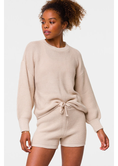 Onzie Onzie Cozy Knit Sweater - Cuban Sand