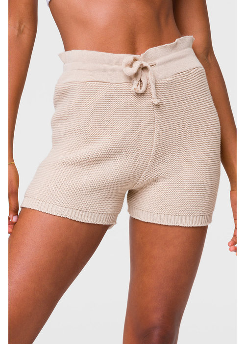 Onzie Onzie Cozy Knit Short - Cuban Sand