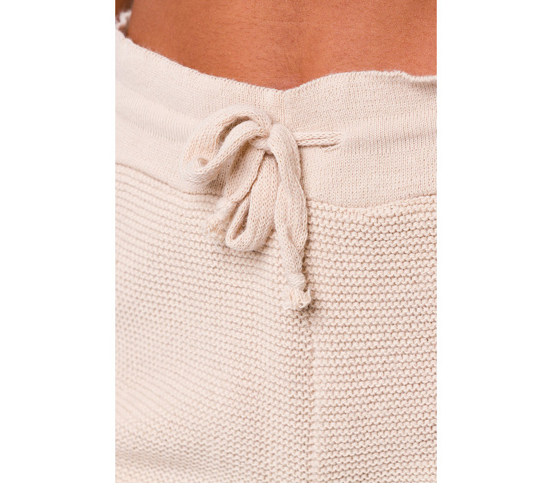 Onzie Cozy Knit Short - Cuban Sand