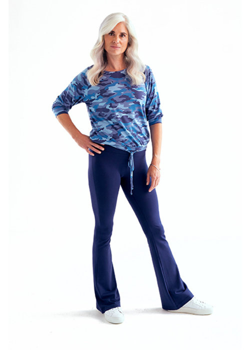 Asquith Asquith Flared Pants - Midnight
