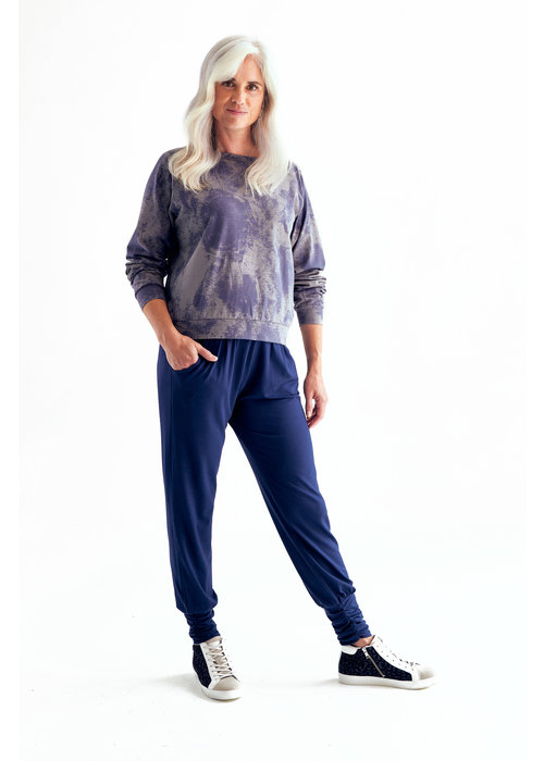 Asquith Asquith Long Harem Pants - Midnight