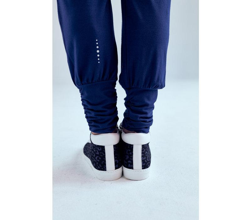 Asquith Long Harem Pants - Midnight
