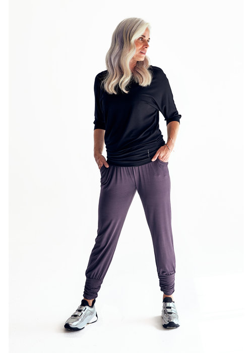 Asquith Asquith Long Harem Pants - Pebble