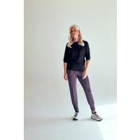 Asquith Long Harem Pants - Pebble