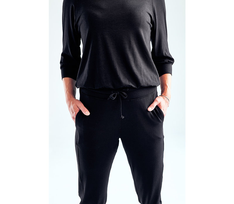 Asquith Crop Pants - Black