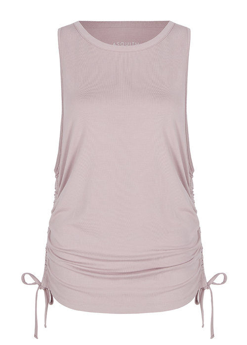 Asquith Asquith Gathered Vest - Blush