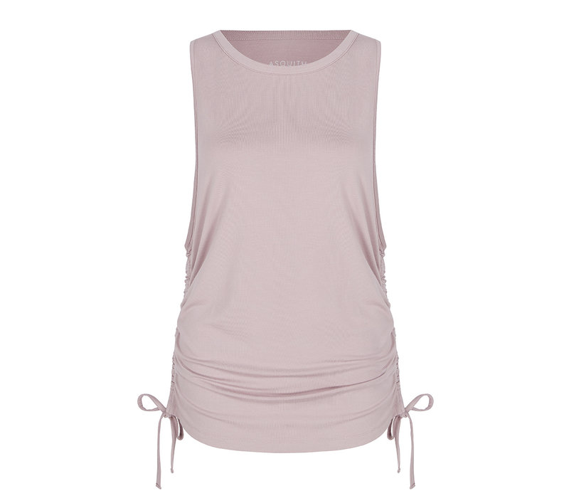 Asquith Gathered Vest - Blush