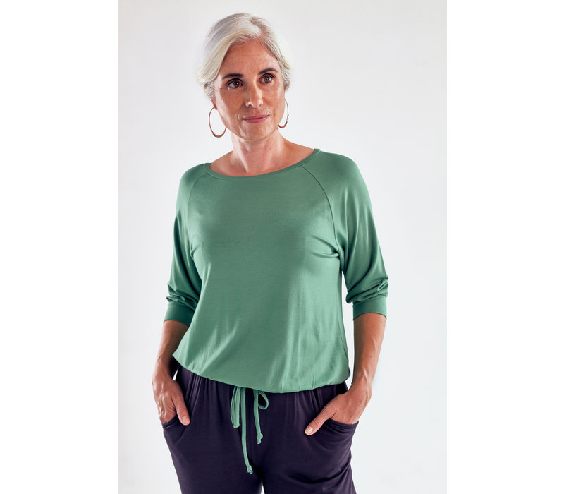 Asquith Embrace Tee - Sage